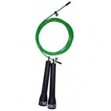 Скакалка для кроссфита V`Noks Steel зеленая