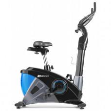 Велотренажер Hop-Sport HS-090H Apollo iConsole + black / blue + mat