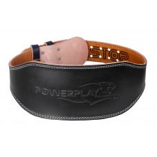 Пояс для тяжелой атлетики PowerPlay 5086 Черно-Коричневый XS