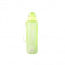 Бутылка для воды CASNO 400 мл MX-5028 More Love Зеленая с соломинкой