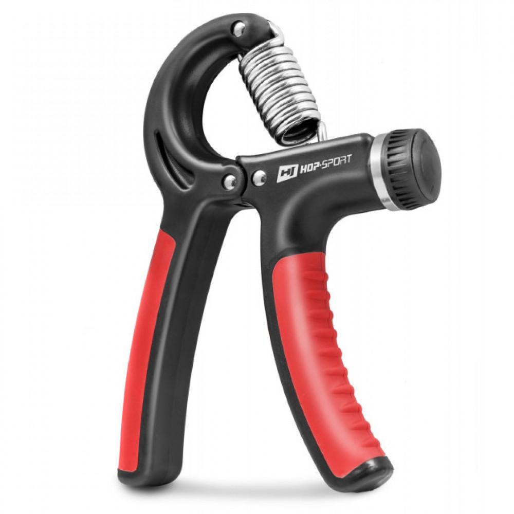 Еспандер регульований Hop-Sport 10-40 кг Черный/Красный