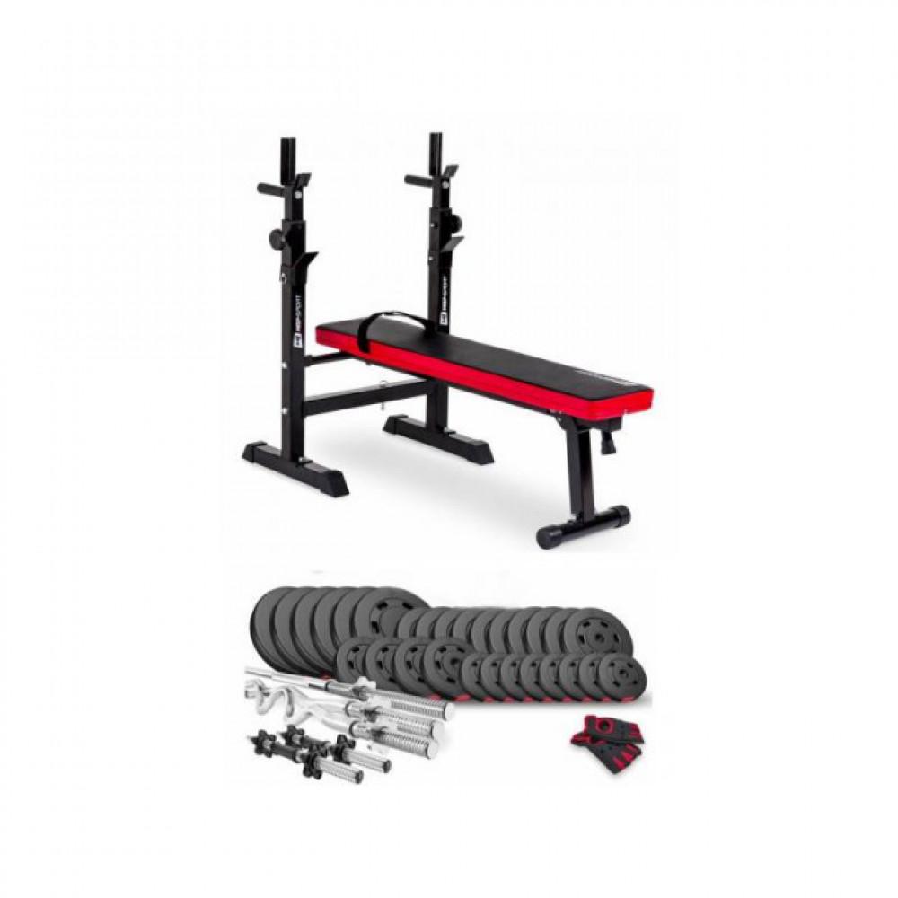 Набор Premium 160 кг с лавой HS-1080