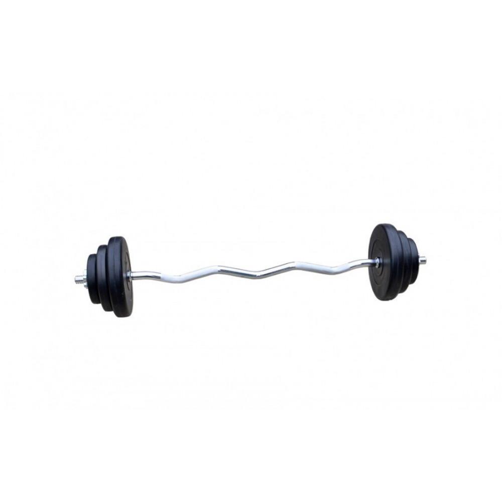 Штанга слабоизогнутая RN Sport 27 кг