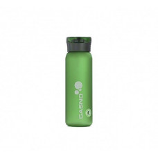 Бутылка для воды CASNO 600 мл KXN-1196 Зеленая с соломинкой