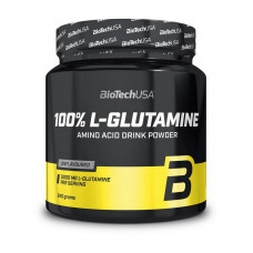 100% L-Glutamine (240 g, unflavored)