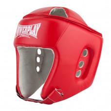 Боксерский шлем турнирный PowerPlay 3084 красный S