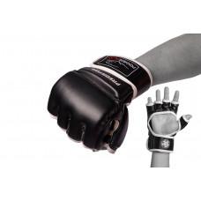 Перчатки для MMA PowerPlay 3056 Черные XL