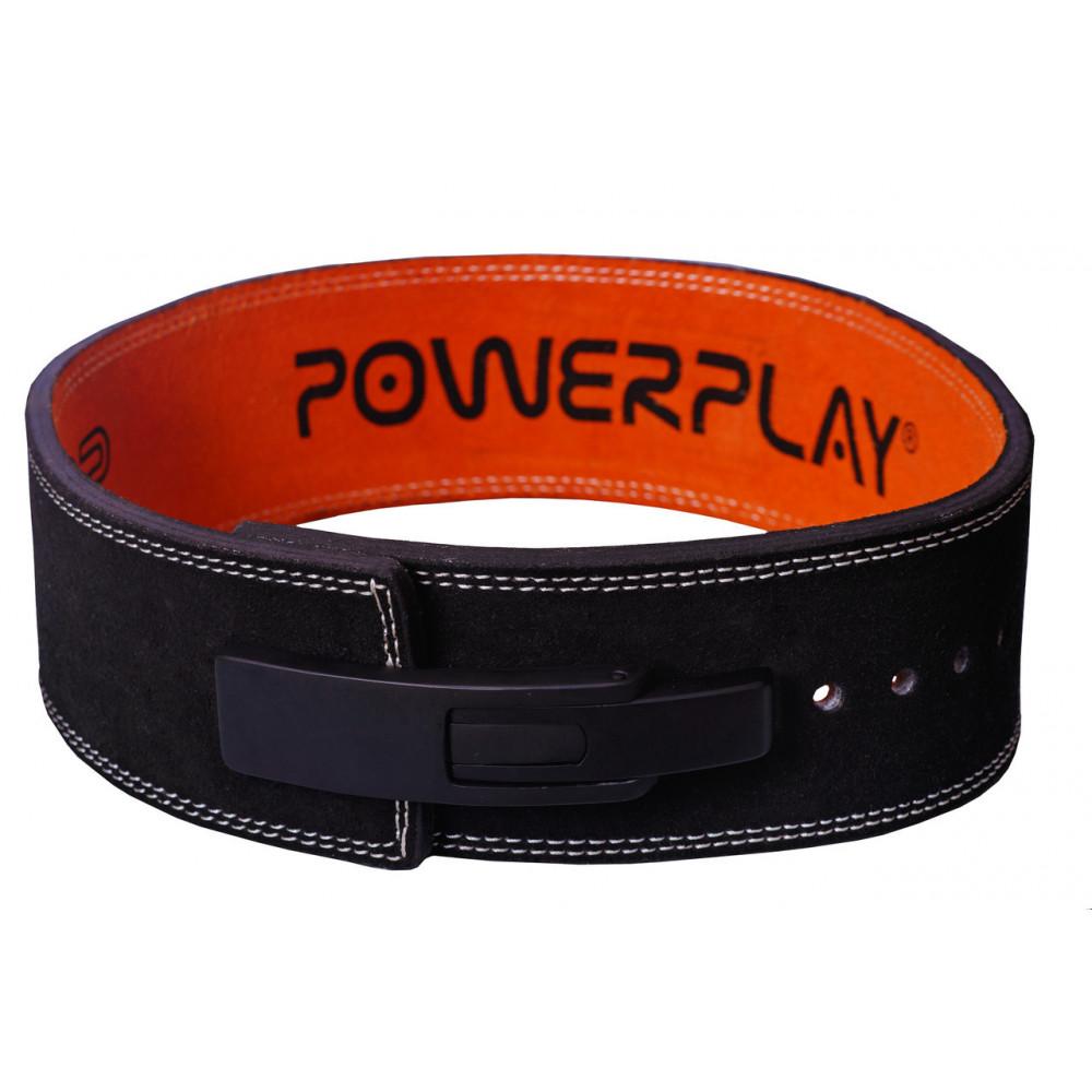 Пояс для тяжелой атлетики PowerPlay 5175 Черно-оранжевый M