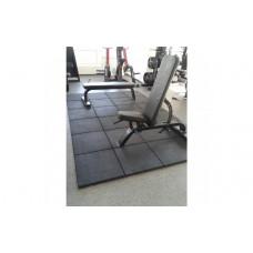 Набор резинового покрытия №3 для домашнего спортзала 6 кв. метра, 12 мм толщина.