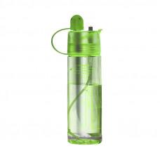 Бутылка для воды CASNO 420 мл KXN-1151 Зеленая с соломинкой
