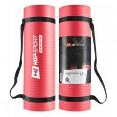 Мат для фитнеса HS-N015GM 1,5 см red