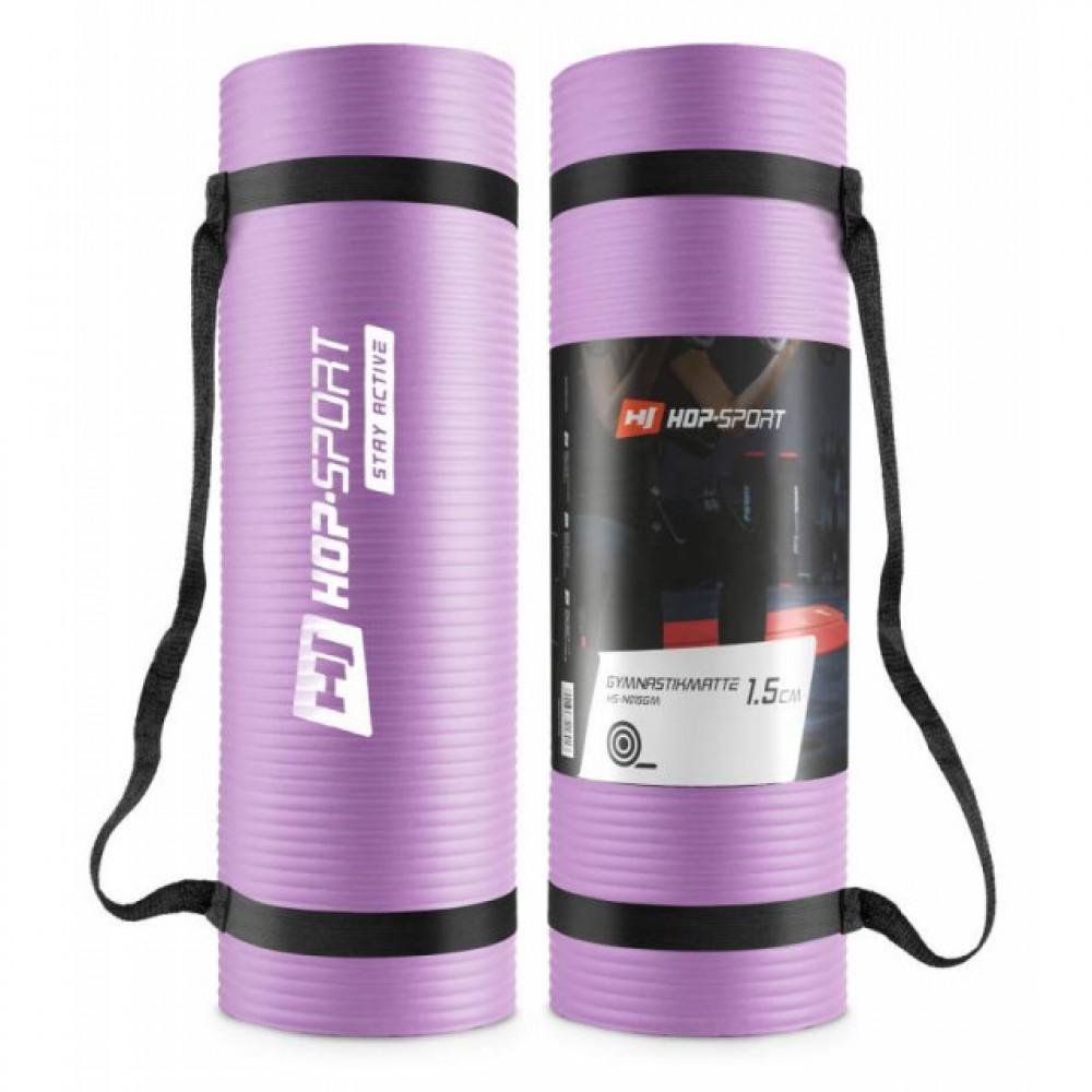 Мат для фитнеса HS-N015GM 1.5 см violet