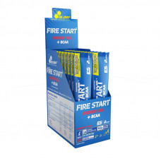 Fire Start energy gel + bcaa (36 g, green apple)