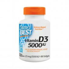Vitamin D3 5000 IU (180 softgels)