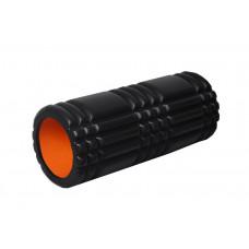 Массажный ролик PowerPlay 4025 Черно-оранжевый
