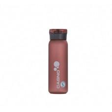Бутылка для воды CASNO 600 мл KXN-1196 Красная с соломинкой
