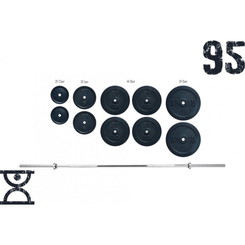 Штанга RN Sport 95 кг