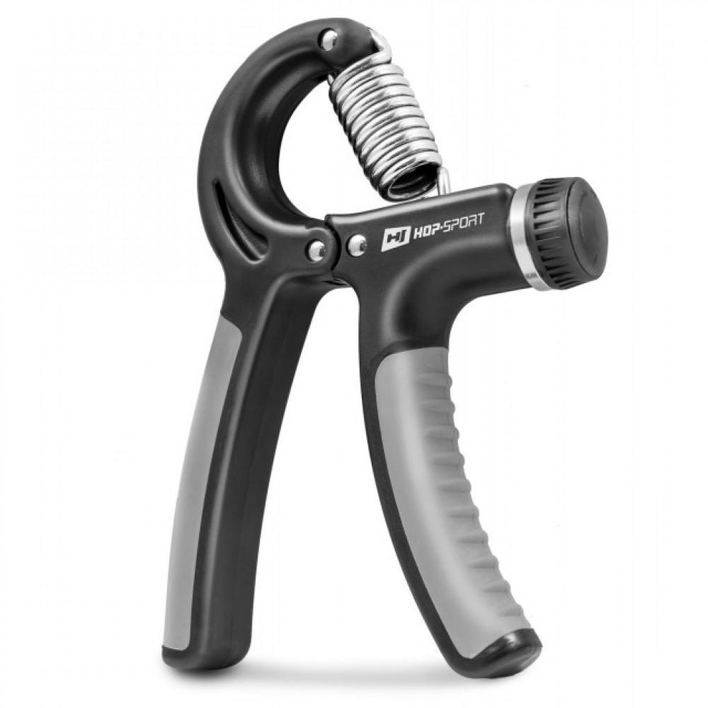 Еспандер регульований Hop-Sport 10-40 кг Черный/Серый