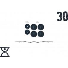 Штанга RN Sport 30 кг