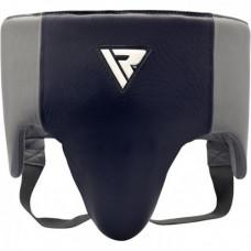 Профессиональная защита паха RDX Leather Pro Blue L