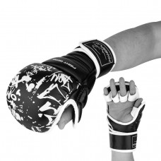 Перчатки для Karate PowerPlay 3092KRT черно-белые XS
