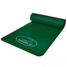 Коврик для йоги и фитнеса PowerPlay 4151 NBR 183 * 61 * 1.5 см Зеленый