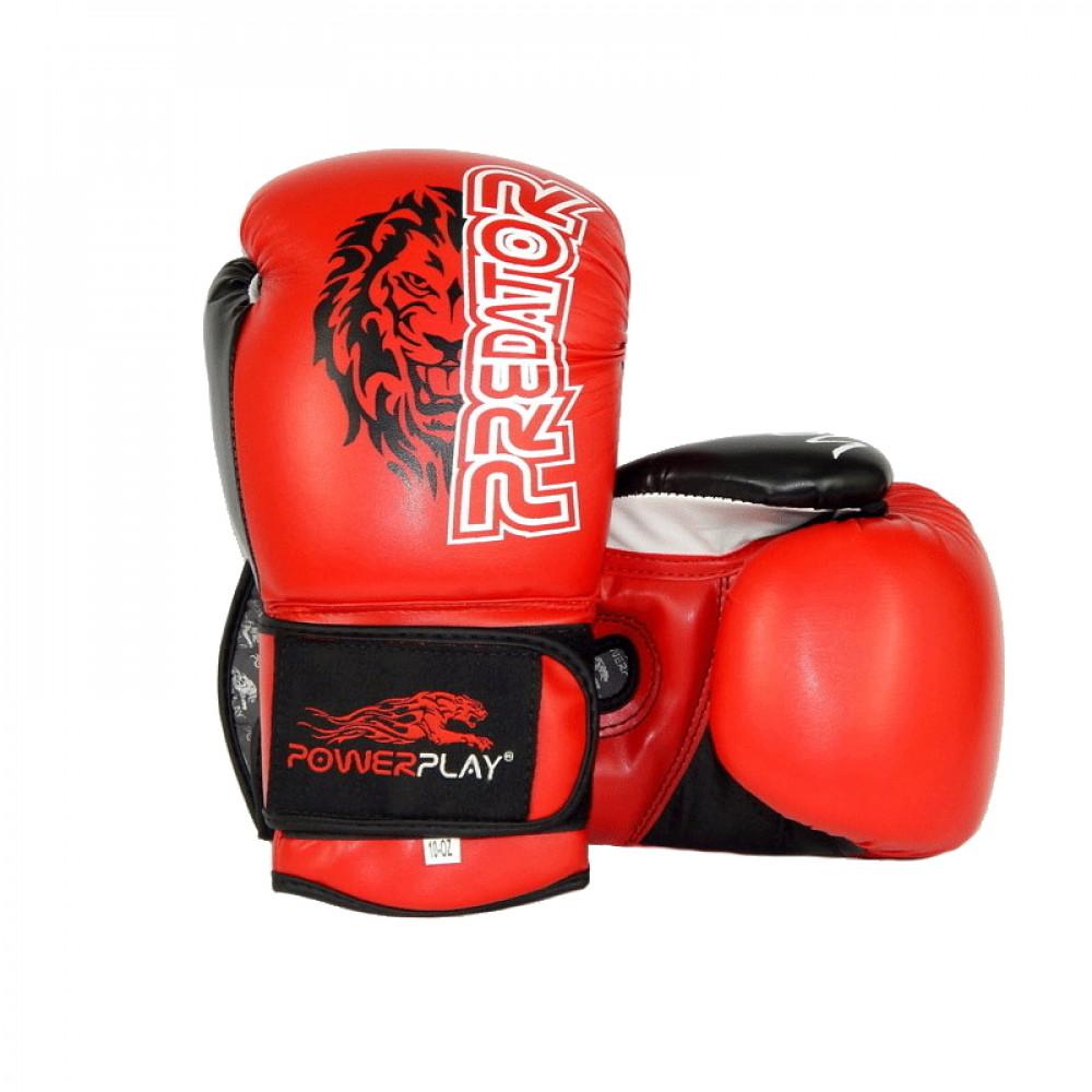 Боксерские Перчатки PowerPlay 3006 Красные 14 Унций