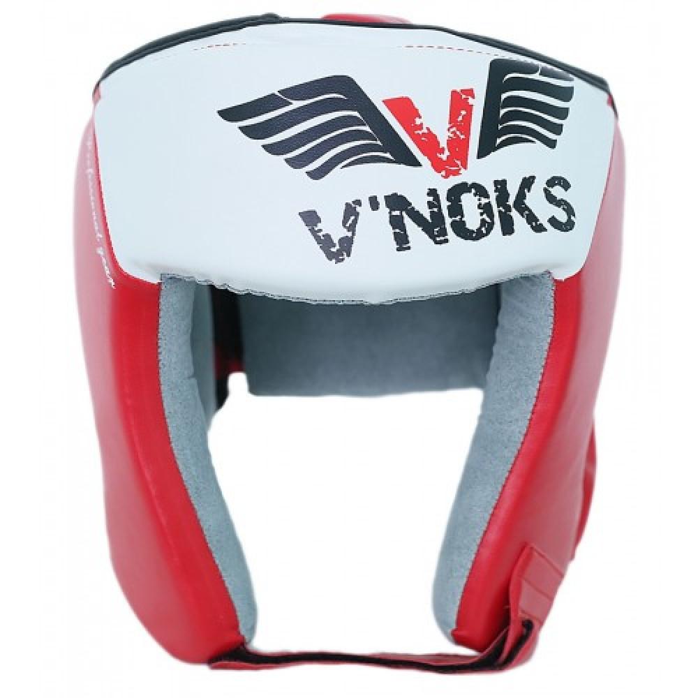 Боксерский шлем V`Noks Lotta Red S