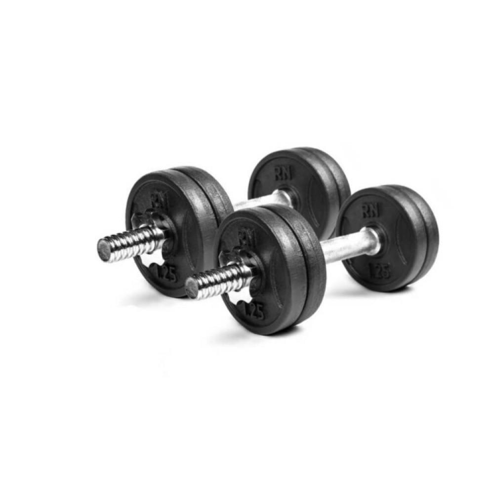 Гантели чугунные RN-Sport 2 шт по 6 кг