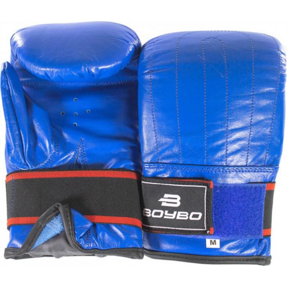 Снарядные перчатки кожа BoyBo син, XL, SF13-34-3 XL
