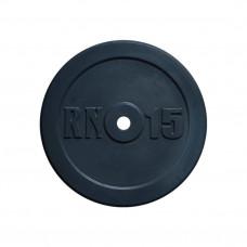 Блин 15 кг на гриф диаметром 25 мм