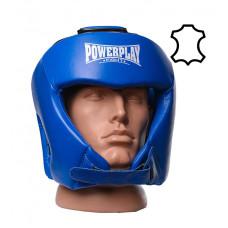 Боксерский шлем турнирный PowerPlay 3049 L Синий
