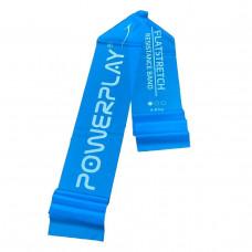 Лентой эспандер PowerPlay 4112 Light Синя (200 * 15 * 0.4 мм, 6.8 кг)