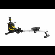 Гребний тренажер Besport BS-6032R SWIMMER магнітний чорно-жовтий