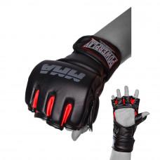 Перчатки для MMA PowerPlay 3053 Черно-красные S / M