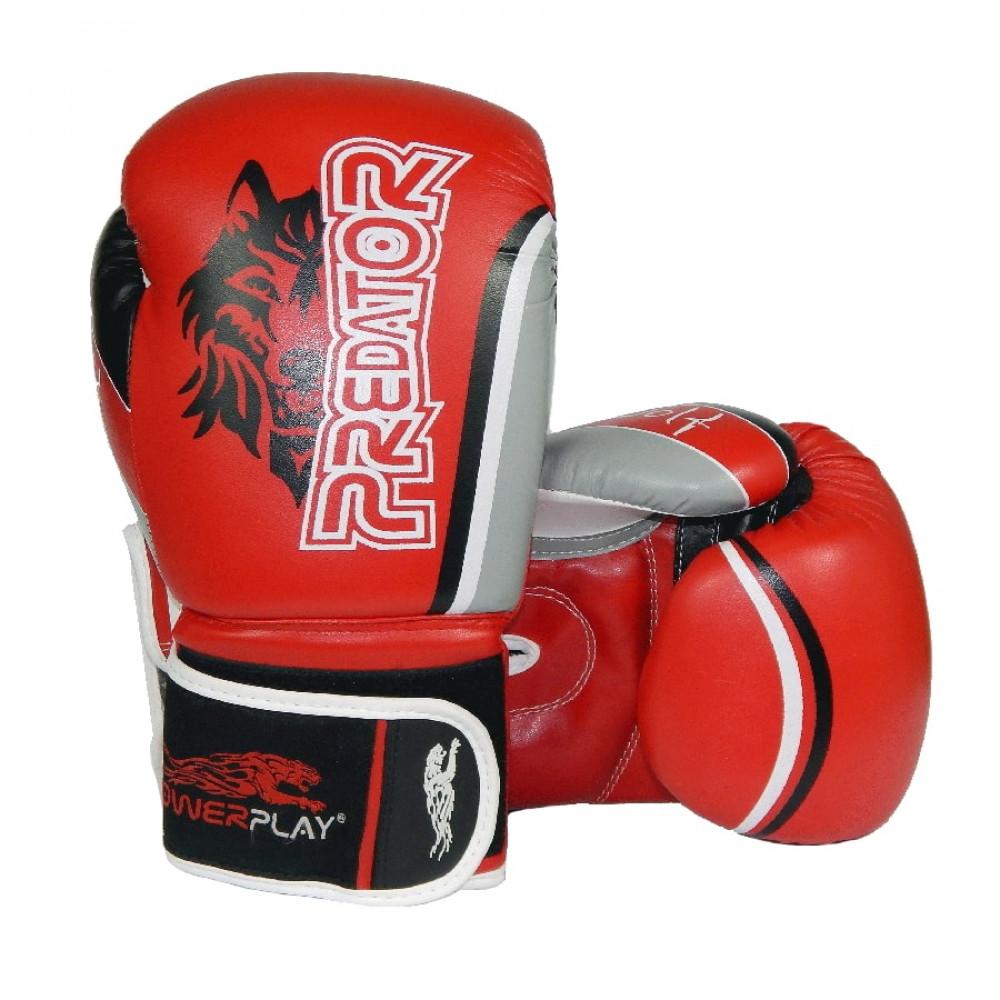 Боксерские Перчатки PowerPlay 3005 Красные 14 Унций