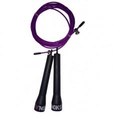 Скакалка для кроссфита V`Noks Steel фиолетовая