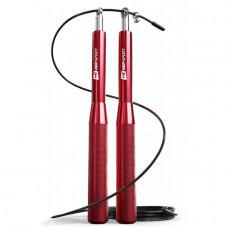 Скакалка Hop-Sport Crossfit з алюмінієвими ручками HS-A020JR red