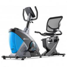Горизонтальный велотренажер Hop-Sport HS-070L Helix iConsole blue