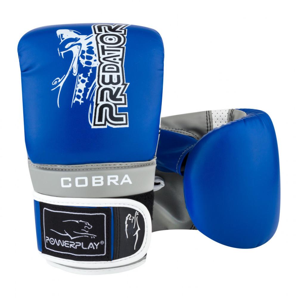 Снарядные перчатки PowerPlay 3038 Сине-серые L