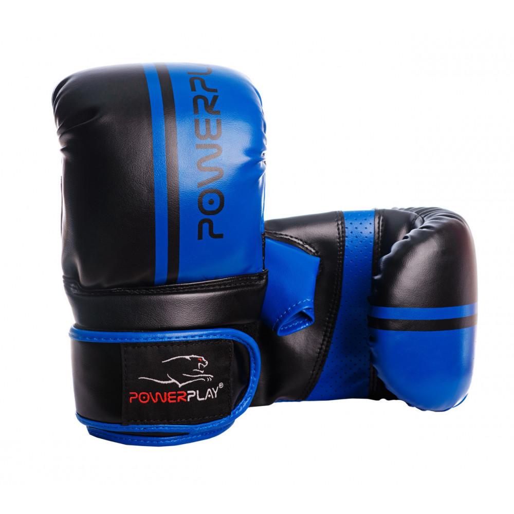 Снарядные перчатки PowerPlay 3025 Черно-Синие XL
