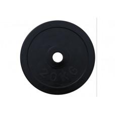 Блин RN-Sport стальной обрезиненный 20 кг - 27 мм