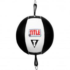 Пневмогруша на растяжках TITLE Classic Double End Bag 2.0