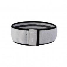 Резинка для фитнеса тканевая PowerPlay 4111 S Серый (d_64cm)