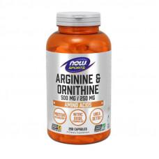 Arginine & Ornithine (250 caps)