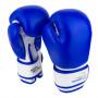 Боксерские Перчатки PowerPlay 3004 JR Сине-Белые 8 Унций