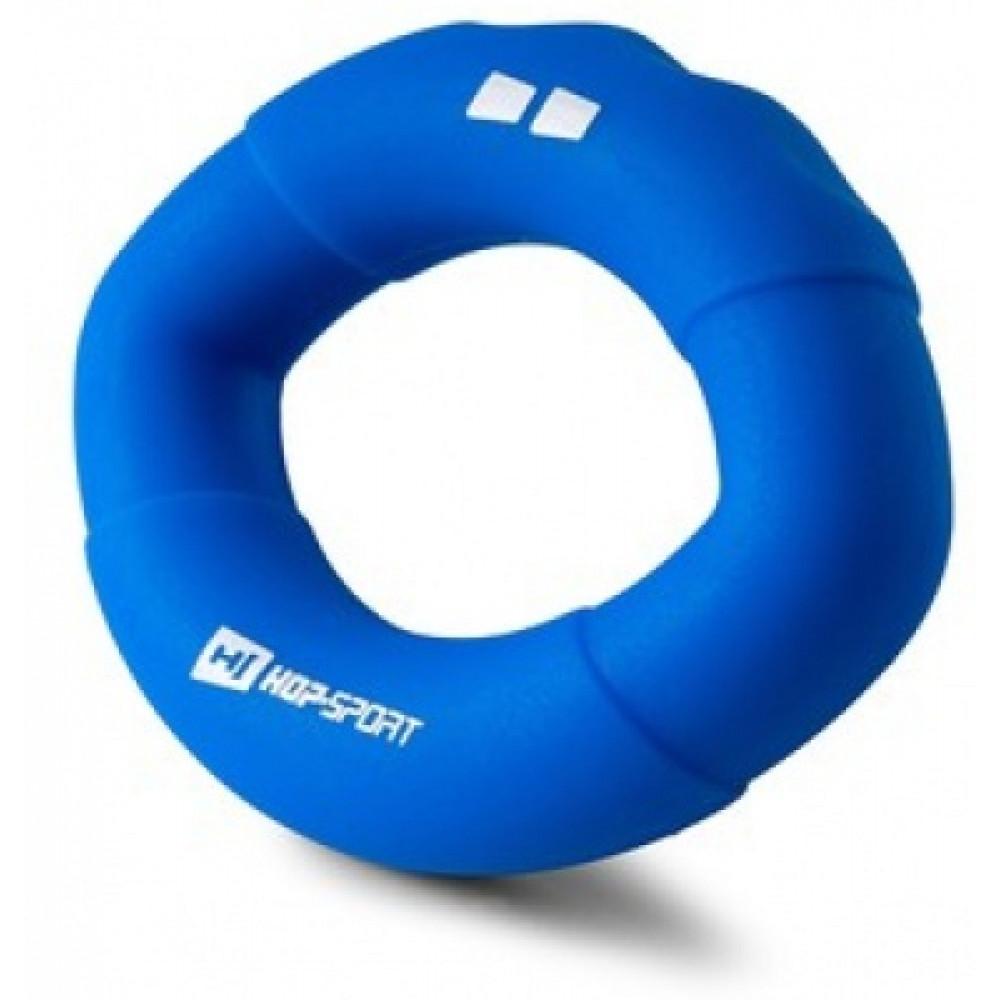 Еспандер силіконовий овальний 18,1 кг Hop-Sport HS-S018OG синій