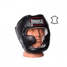 Боксерский шлем тренировочный PowerPlay 3065 Черный S / M