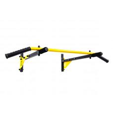 Турник настенный Besport BS-T0202 с 4 ручками желтый