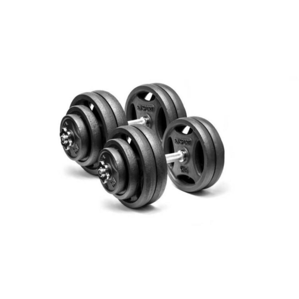 Гантели чугунные RN-Sport 2 шт по 28 кг